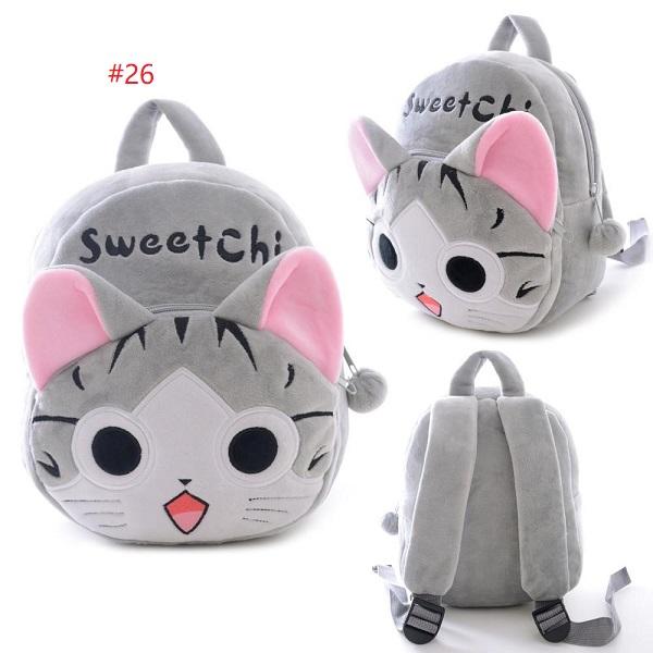 2eddfab5adab Plush Cartoon Bags Kids Backpack Children School Bags Animal Cute Bags
